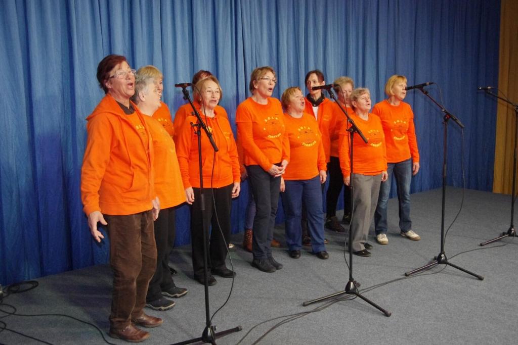 Pevke skupine KR - Prešernov gaj - foto: Mimi Šegina