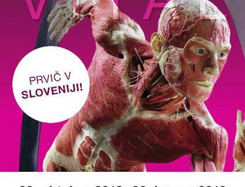 Predstavitve DŠZ na mednarodni razstavi Body Worlds Vital v Ljubljani (20. 10. 2018 – 20. 1. 2019)
