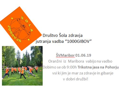 29. Športni vikend Maribora – Trikotna jasa, 1. 6. 2019