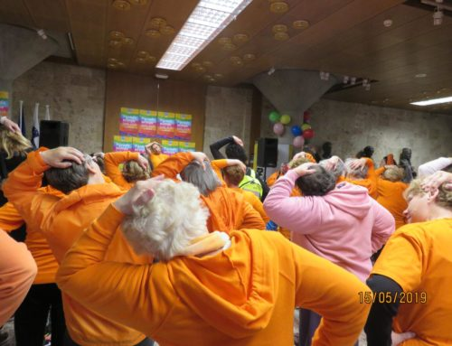 Regijsko srečanje gorenjskih skupin DŠZ v Kranju + Parada učenja 2019