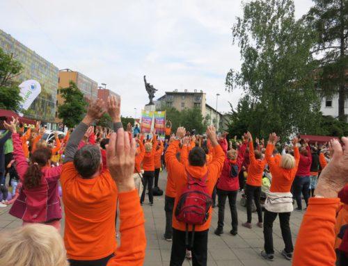 Regijsko srečanje gorenjskih skupin DŠZ v Kranju + Parada učenja 2019 – (15. maj)
