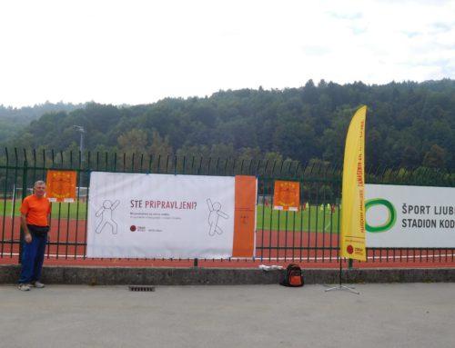 Testirali smo se za ZDRAVE ARTERIJE, Ljubljana – Kodeljevo, 14. 9. 19