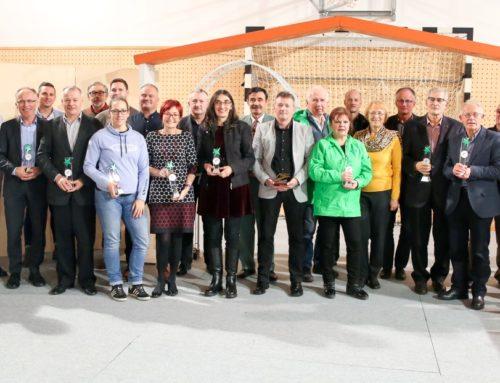 Posebno priznanje Športne unije Slovenije ob 10. obletnici našega društva
