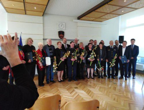 Med dobitniki letošnje plakete Državnega sveta najzaslužnejšim prostovoljcem tudi naša članica