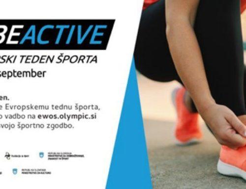 Evropski teden športa, 23-30.9.2020