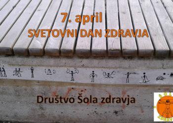 To so vaje 1000 gibov, ki jih je na neki klopci v ljubljanski skupini VIČ narisal naš član Silvo Pivk.